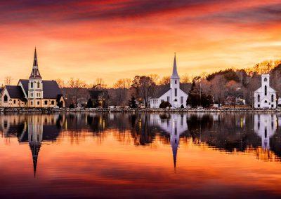The Churches of Mahone Bay