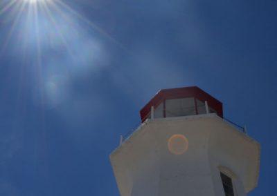 lighthouse pc sunlit